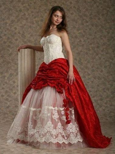 Wedding Saloon :: Фото - красные свадебные платья - Свадебные