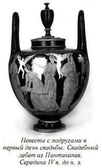 Древнегреческие свадьбы