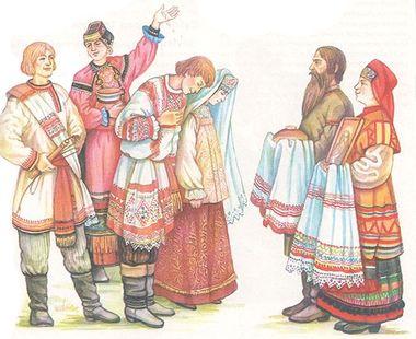 Обычаи и праздники русского народа. Свадьба.