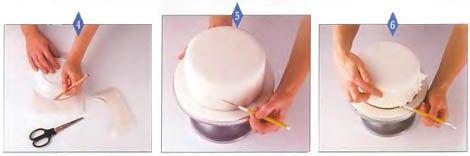 Многоярусный свадебный торт своими руками