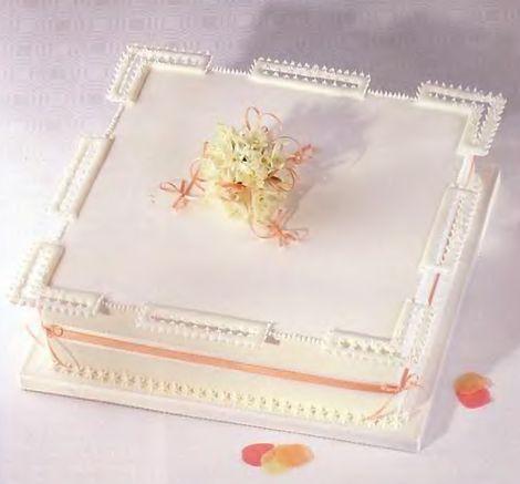 Классический свадебный торт своими руками