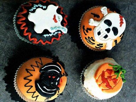 Свадебный торт в стиле Хеллоуин