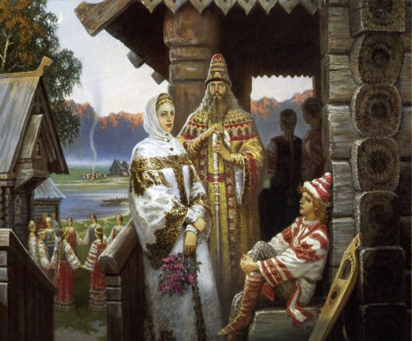 Семь отличий мужней жены от девицы на Руси